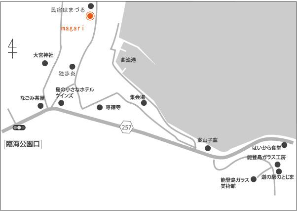 ゲストハウスmagari map